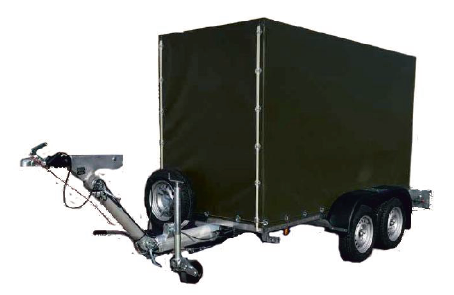 trailer mounted purification unit